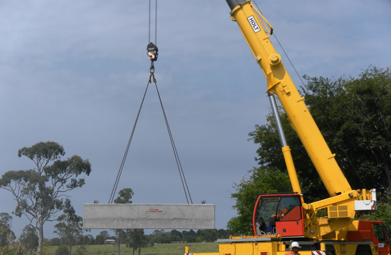 crane lift footings